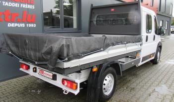 FIAT DUCATO BENNE DOUBLE CABINE 7 pl/ 2.3 MTJ 130 CV tva rec. full